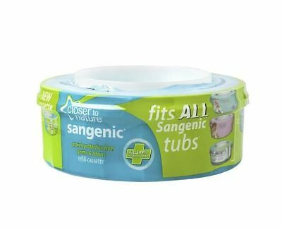 Sangenic Tommee Tippee Refill Tommee Tippee Sangenic Nappy Wrapper Cassette