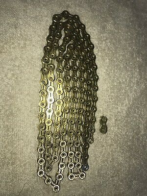 KMC X10SL 10s 10 speed Chain 112 Links Shimano Sram FSA Gold