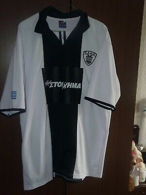 PAOK home shirt 2010 size 44/46