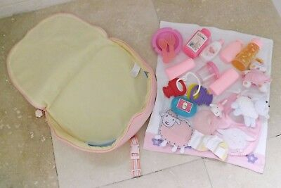 Baby Annabell Bag And Accessories