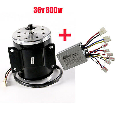 800W 36V DC electric motor ATV scooter bike go-kart MY1020+ Speed Controller Box