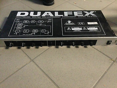 "BEHRINGER DUALFEX EX 2100 MULTIBAND ENHANCEMENT PROCESSOR 19"" Rack"