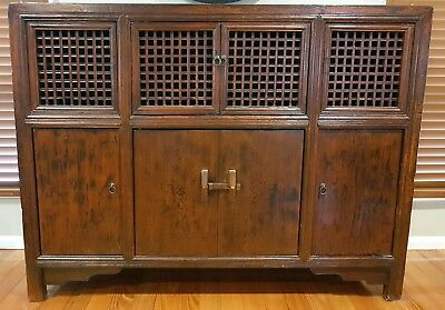 Chinese Timber Buffet / Sideboard