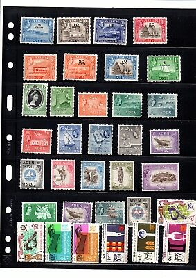 A Selection Of  Mint Stamps From Aden