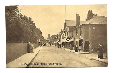 High Street Walton-on-the-Naze Essex Postcard