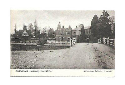 Franciscan Convent Braintree Essex Postcard