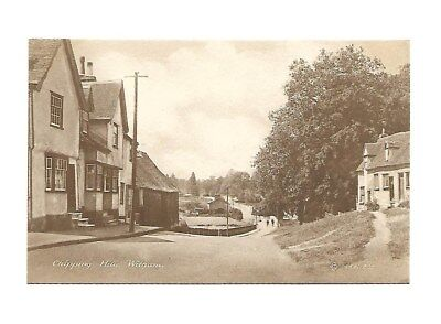 Chipping Hill Witham Essex Postcard