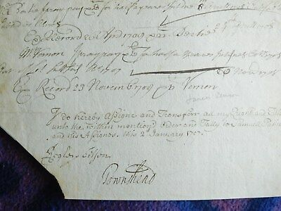 Autograph - Charles 'Turnip' Townshend - agricultural revolution