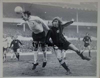 Tottenham v Man City press photo 1972 Alan Gilzean Colin Bell Lee Chivers RARE!!
