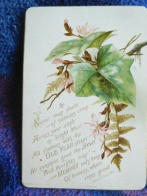 Queen Victoria - Incredibly rare SIGNED Christmas New Year card!!