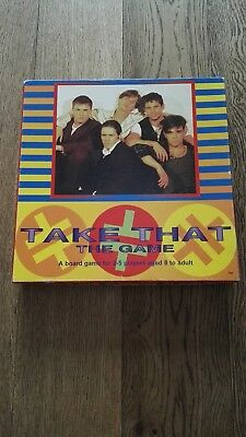 Take That Official Board Game Rare Collectible Item