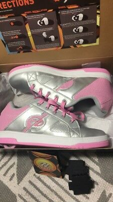 Womans shoes,heelys,pink,leather