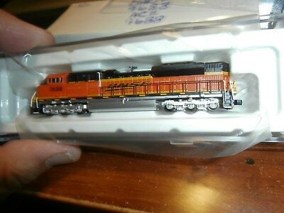 AMERICAN Z LINES 1:220 SCALE (Z) SD70ACe DIESEL LOCOMOTIVE-BNSF-RENUMBERED-9688
