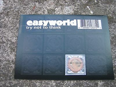 easyworld Try Not To Think Sticker