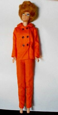 Vintage Barbie Doll 1958 Mcmlxiii With Clothes As Is 64 On Left But Look