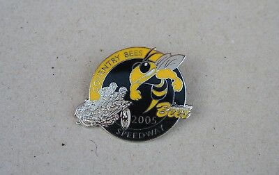 Coventry Bees 2005 Speedway Badge (Black Centre)