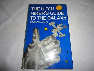 THE HITCH HIKERS GUIDE TO THE GALAXY. DOUGLAS ADAMS. H/B 1st EDITION. 1979.