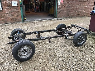 HOTROD CHASSIS 1939 MGB front end rear axle Project
