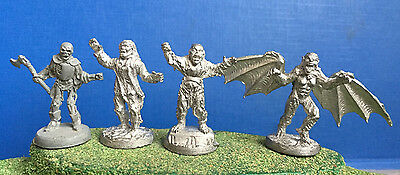 4 Leading Edge Games Evil Dead `Army Of Darkness` Miniatures Rare oop