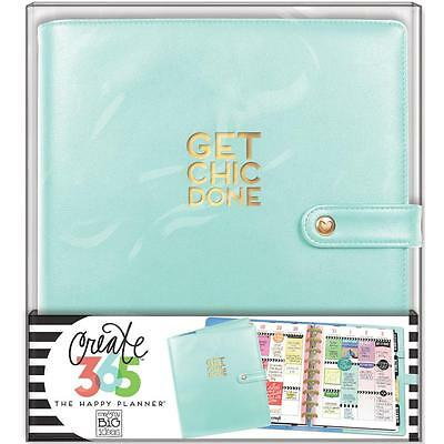 Me & My Big Ideas Create 365 CLASSIC Happy Planner Deluxe Cover Mint CODC-04