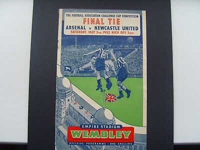 1952 FA CUP FINAL  ARSENAL v NEWCASTLE UNITED @ Wembley