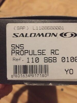 Salmon Propulse Rc Classic Binding, Msrp $120