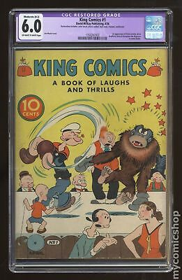 King Comics (1936) #1 CGC 6.0 RESTORED 1350297003