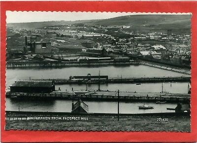 Real Photo Postcard, Whitehaven from Prospect Hill. Cumberland