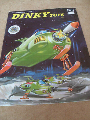 DINKY TOY CATALOGUE 1971 7th INTERNATIONAL EDITION EXCELLENT VN MINT CONDITION