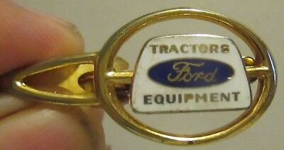 Ford Tractors and Equipment Cloisenne Tie Clip