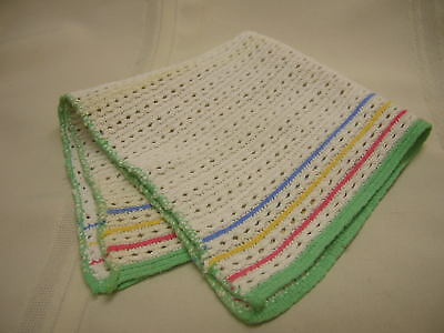"""Vintage Kitchen Dish Cloth Not Used 12"""" X 13"""""""
