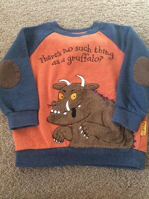 Baby Boys Gruffalo Jumper Age 18-24 Months Worn Once