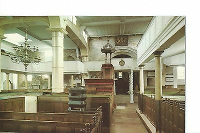 Vintage Coloured Postcard -  St. Mary's Church, Whitby - Unused - Dennis & Sons