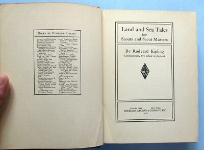 1928 Rudyard Kipling Stories For Scouts and Scout Masters