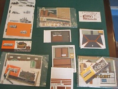 SuperQuick Models  '00' 'Collection of Model Building Kits (Card) and Spares'
