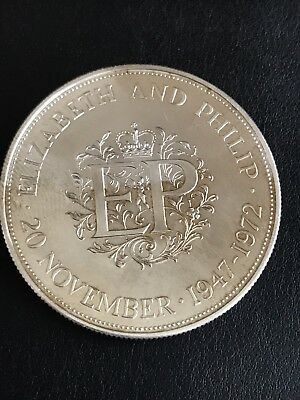 Scrap silver crown 1972 - Only 100k Minted.