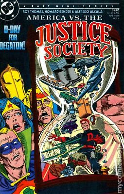 America vs. Justice Society (1985) #4 VF