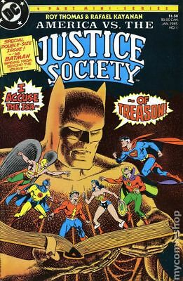 America vs. Justice Society (1985) #1 VF