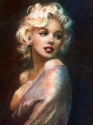 CHENPAT129 modern Marilyn Monroe  oil painting 100% hand-painted art on canvas