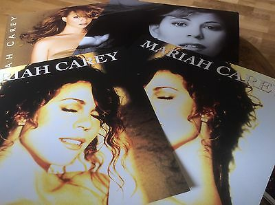 Mariah Carey - Emotions - Daydream - Butterfly - Set Of 4 Promo Only Pictures