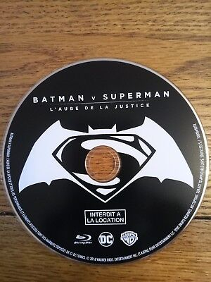Batman v superman - BLU RAY Movie - Disc only - no boxes / covers