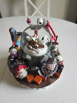 Nightmare Before Christmas Limited edition snow globe. Never displayed