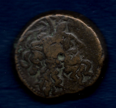 Bronze Coin of Ptolemy V1 Egypt Reign 180 to 145 BC