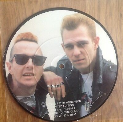 The Clash Interview Picture Disc Talking to the Clash