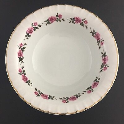 Ridgway Romance Vegetable Serving Bowl Staffordshire England 22 KT Gold Trim