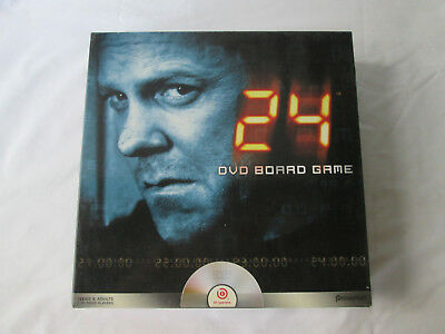 24 Jack Bauer DVD Board Game TV Show Complete pre-owned