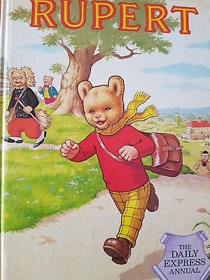 Rupert Bear Daily Express Annual Hardback Book 1984 price unclipped VGC