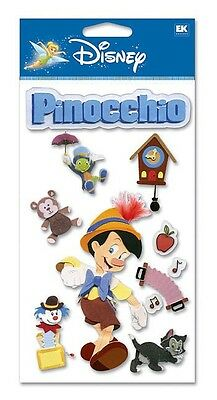 DISNEY PINOCCHIO Puppet Real Boy Jiminy Cricket Gepeto Wishes Stickers