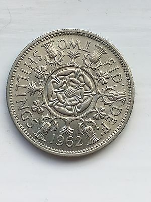 1962 Two 2 Shilling Coin Uncirculated