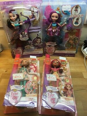 Ever After High New Doll Bundle Daughter Of Mad Hatter Evil Queen Cinderella Bea